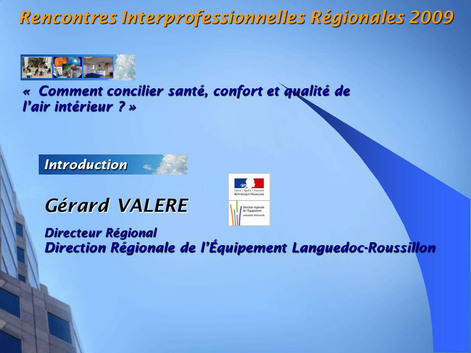 Rencontres Interprofessionnelles Régionales 2009