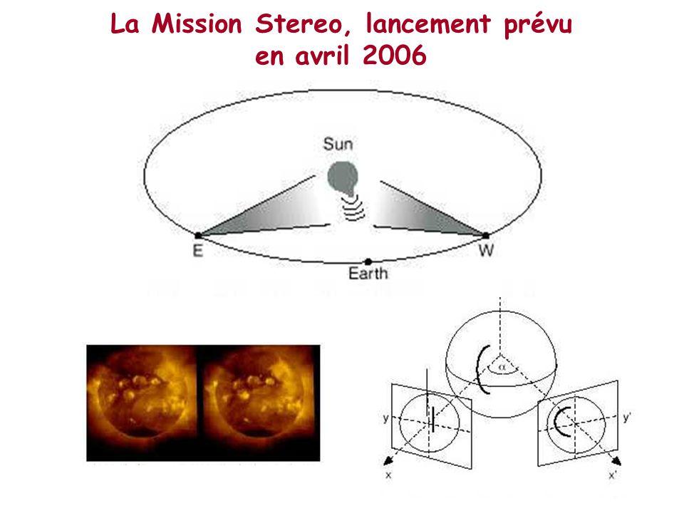 La Mission Stereo, lancement prévu en avril 2006