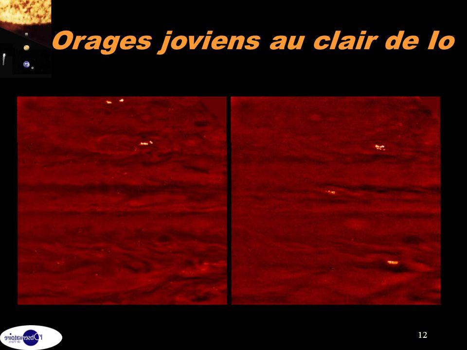Orages joviens au clair de Io