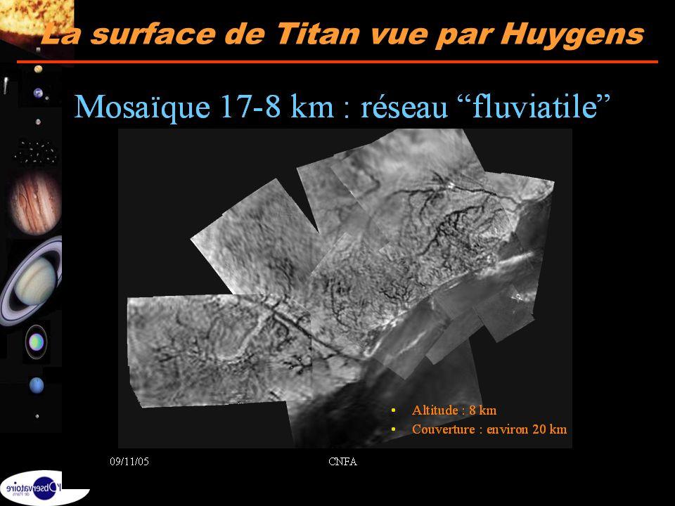 La surface de Titan vue par Huygens