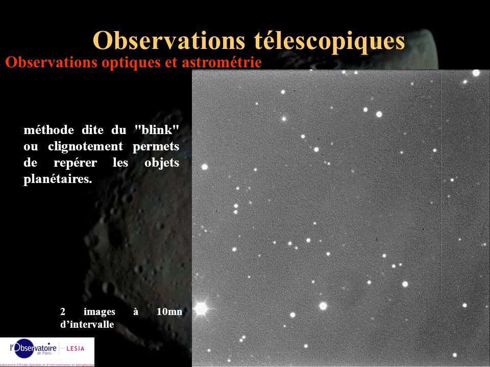 Observations télescopiques