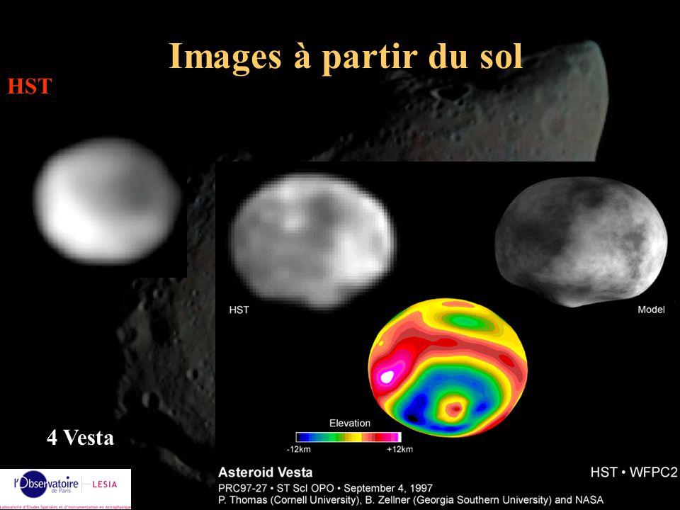 Images à partir du sol HST 4 Vesta Alain Doressoundiram