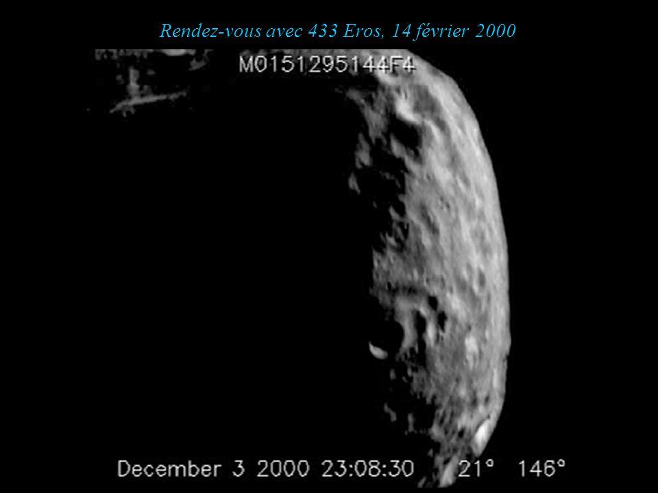 Rendez-vous avec 433 Eros, 14 février 2000