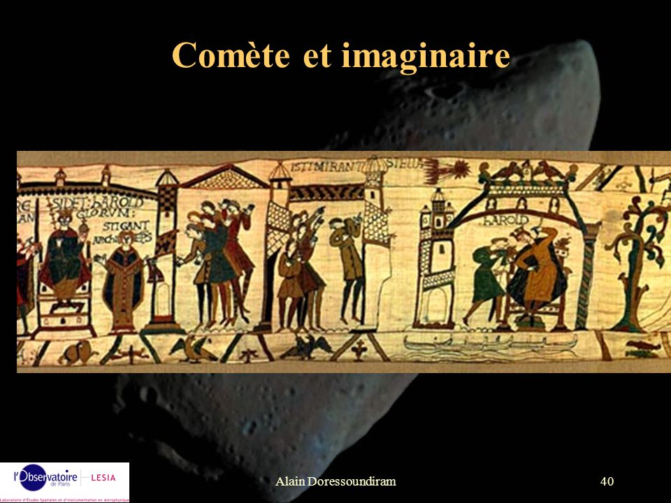 Comète et imaginaire Alain Doressoundiram