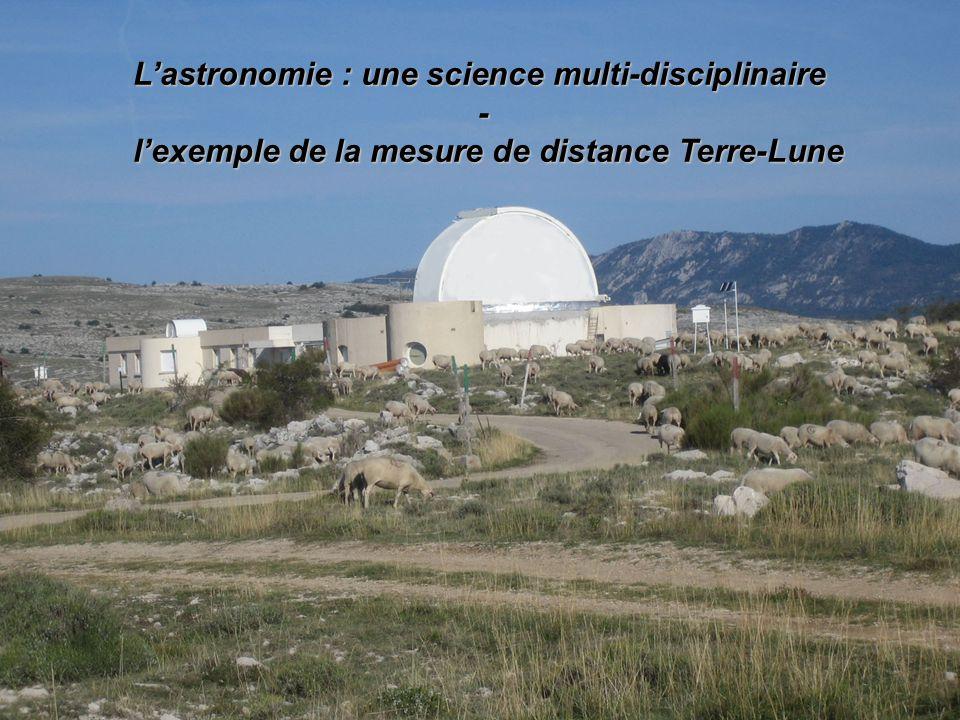 L'astronomie : une science multi-disciplinaire -