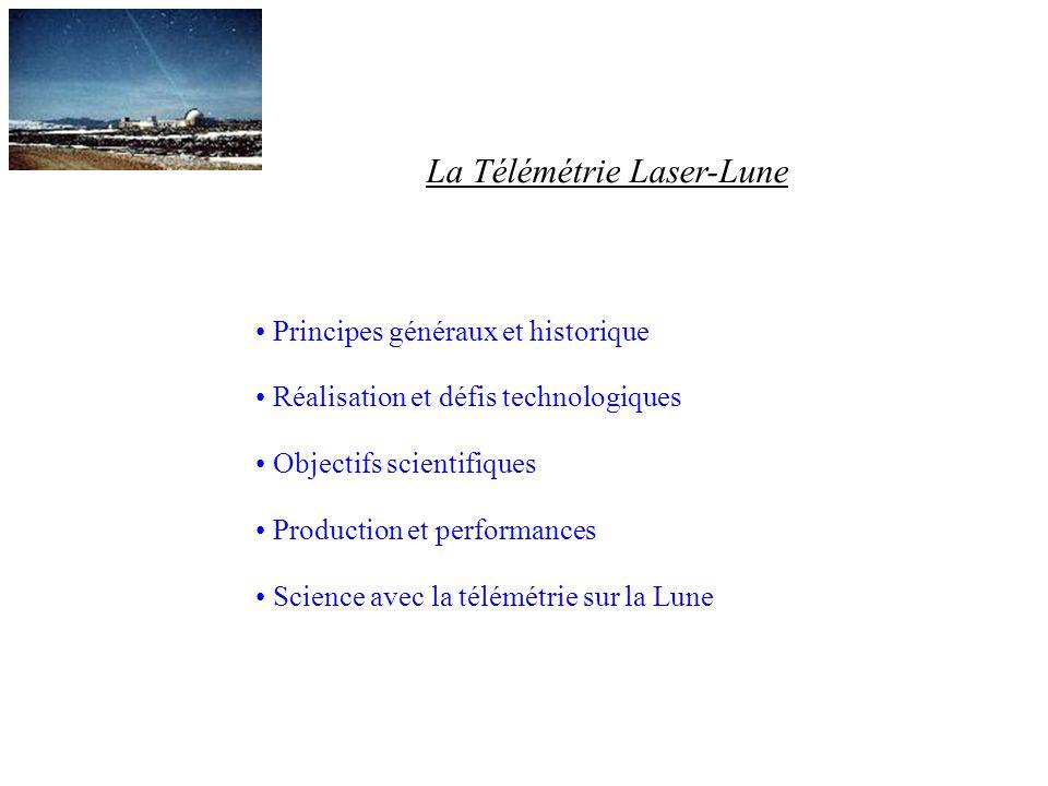 La Télémétrie Laser-Lune