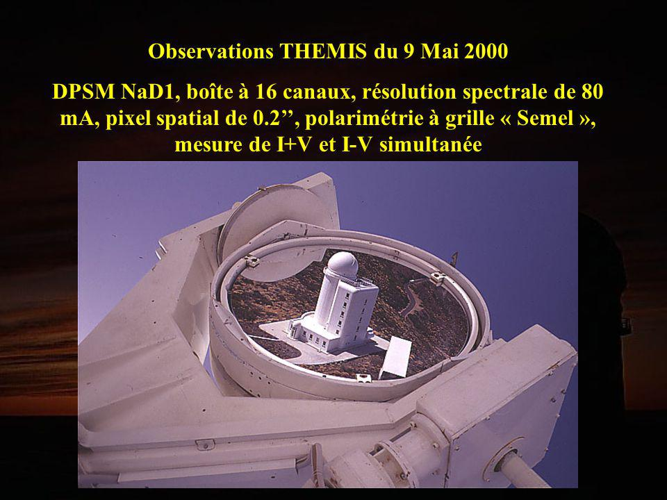 Observations THEMIS du 9 Mai 2000