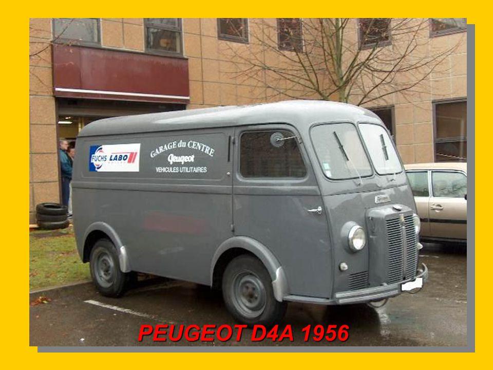 PEUGEOT D4A 1956