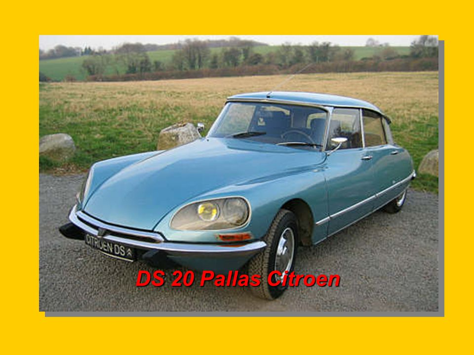 DS 20 Pallas Citroen