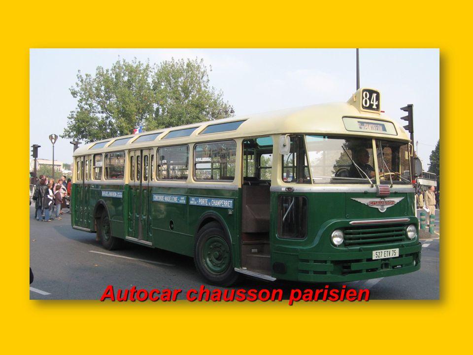 Autocar chausson parisien