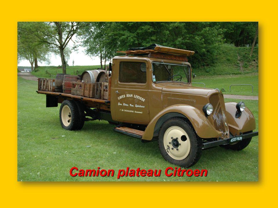 Camion plateau Citroen
