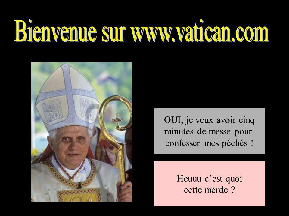 Bienvenue sur www.vatican.com