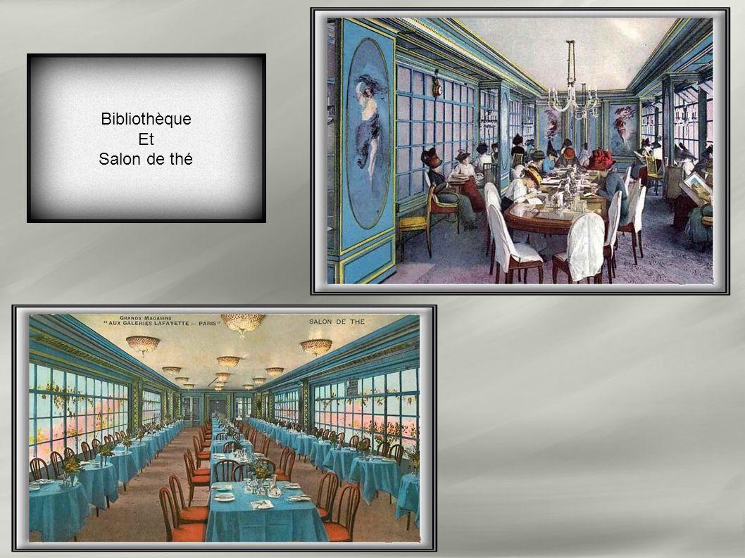 Bibliothèque Et Salon de thé