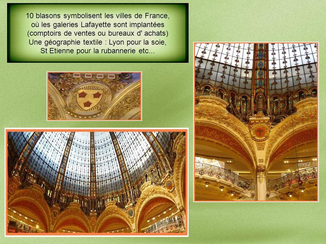 10 blasons symbolisent les villes de France,