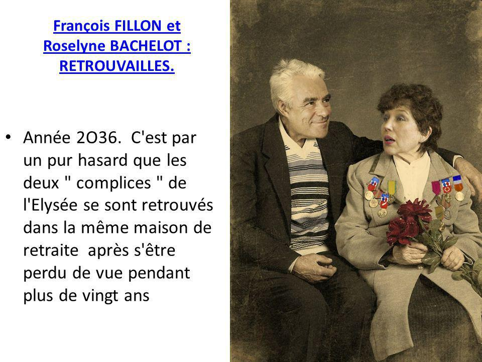 François FILLON et Roselyne BACHELOT : RETROUVAILLES.
