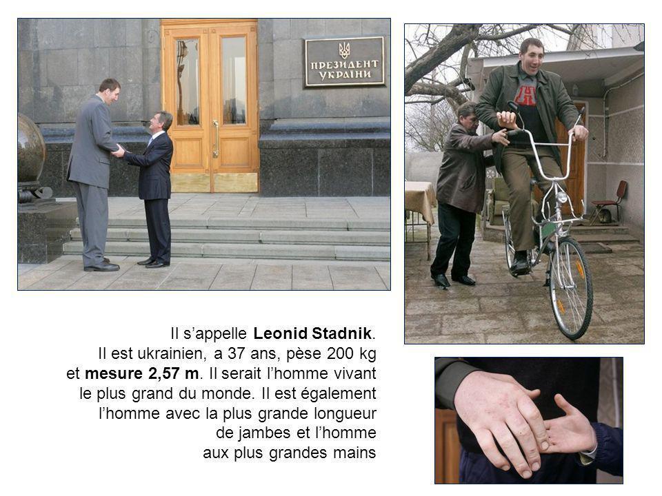 Il s'appelle Leonid Stadnik