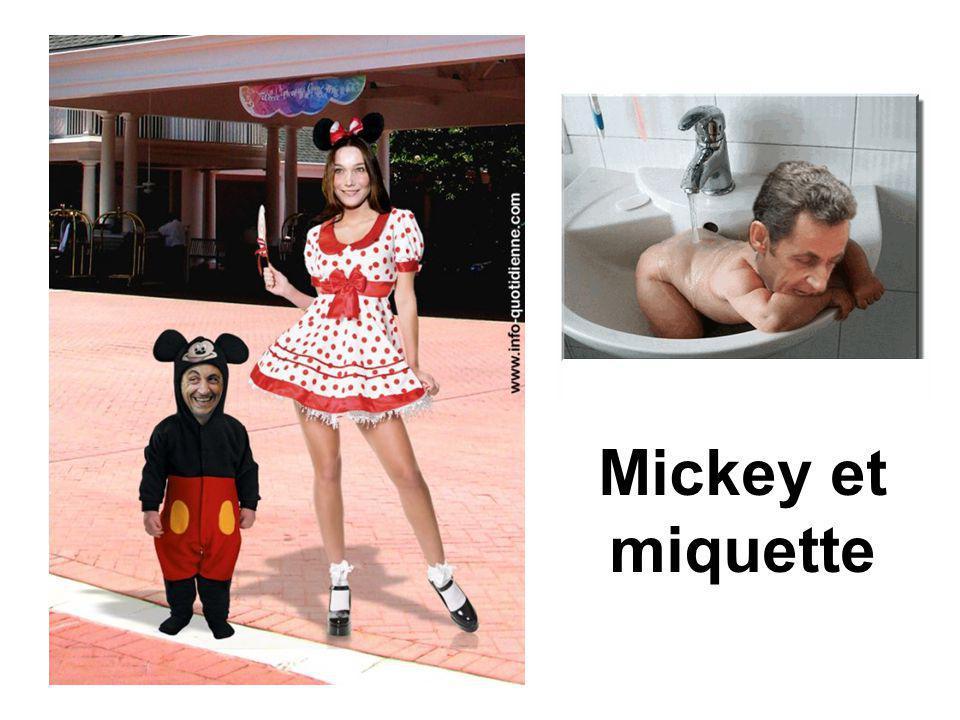 Mickey et miquette