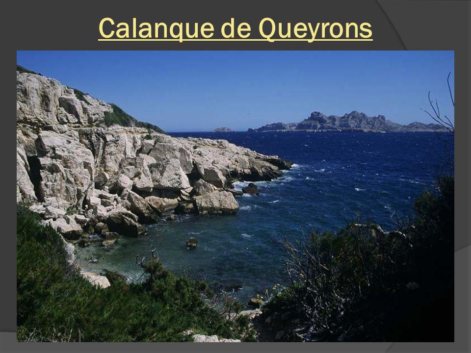 Calanque de Queyrons