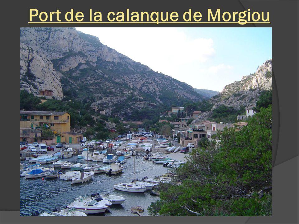 Port de la calanque de Morgiou