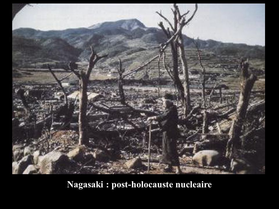 Nagasaki : post-holocauste nucleaire