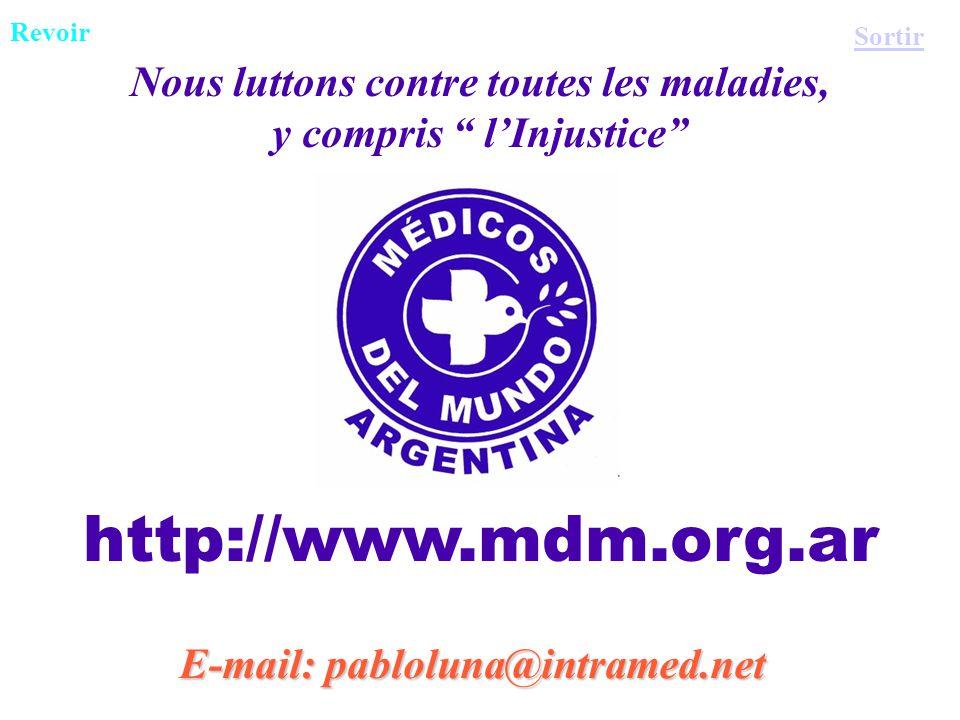 http://www.mdm.org.ar Nous luttons contre toutes les maladies,