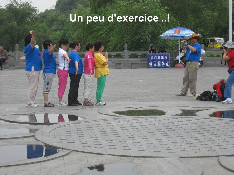 Un peu d'exercice ..!