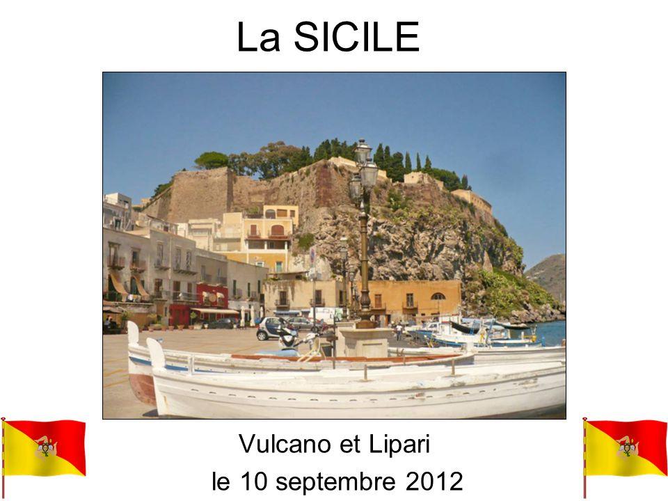 Vulcano et Lipari le 10 septembre 2012