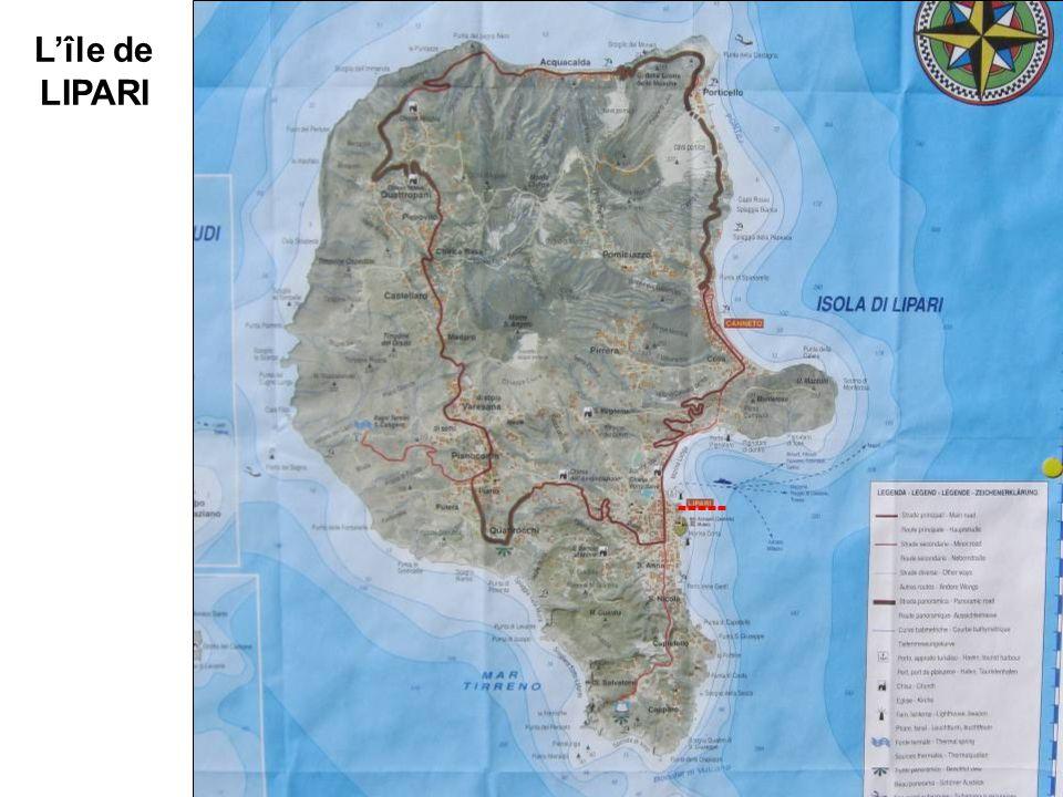 L'île de LIPARI -----