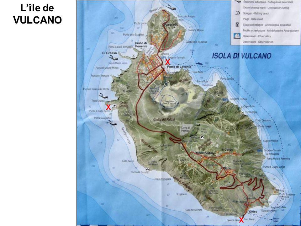 L'île de VULCANO X X X