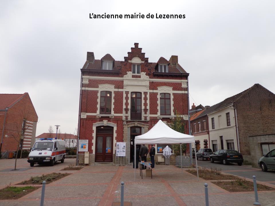 L'ancienne mairie de Lezennes