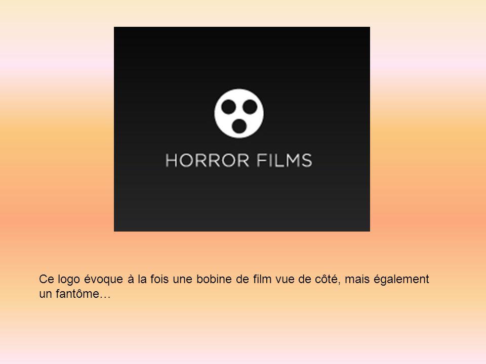 Ce logo évoque à la fois une bobine de film vue de côté, mais également un fantôme…
