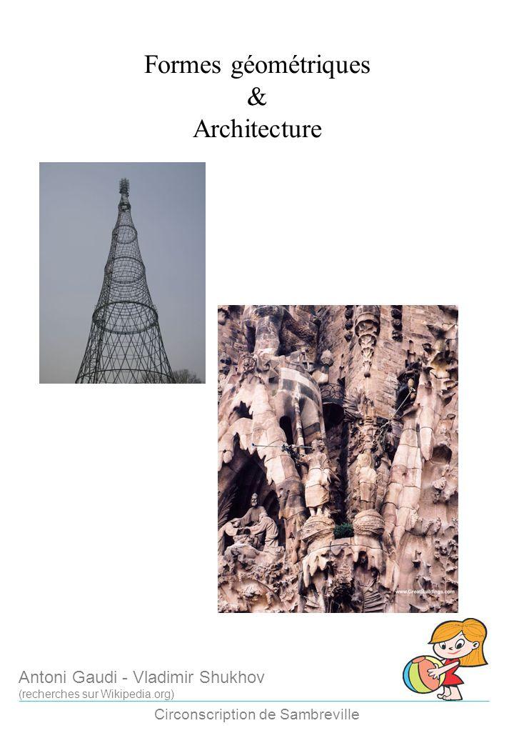 Formes géométriques & Architecture