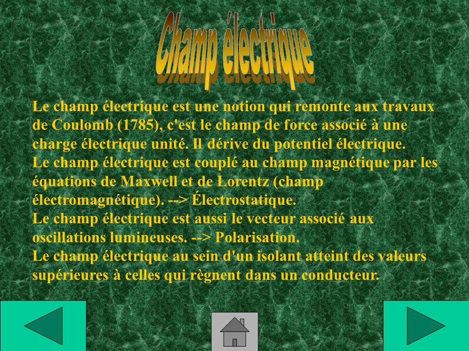 Champ électrique