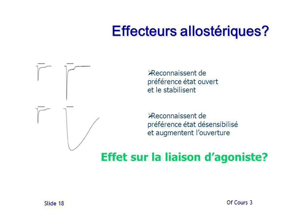Effecteurs allostériques