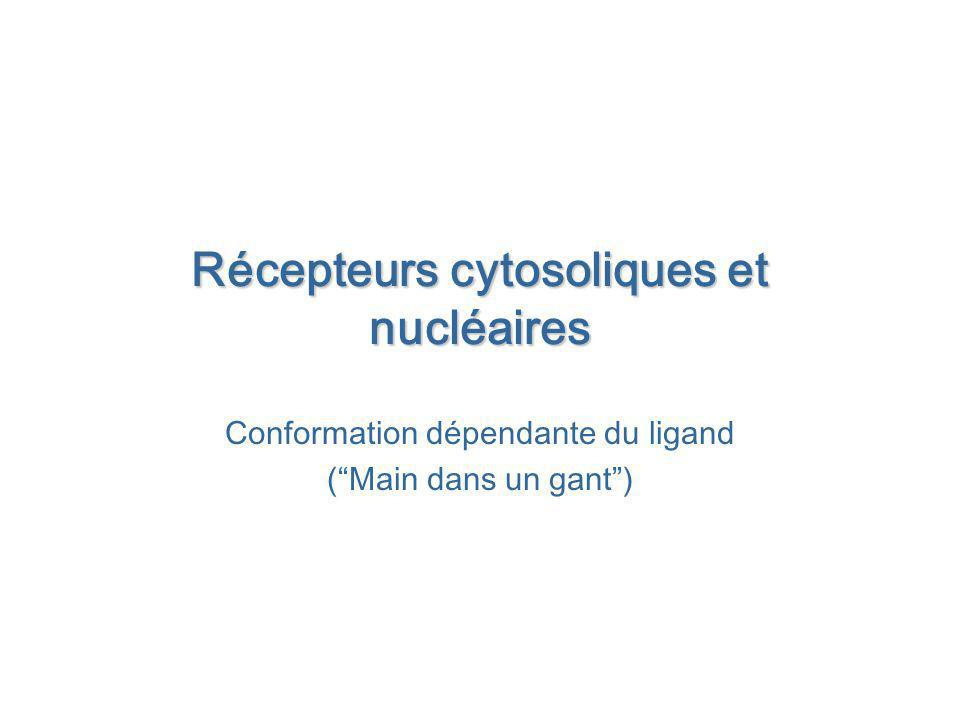 Récepteurs cytosoliques et nucléaires