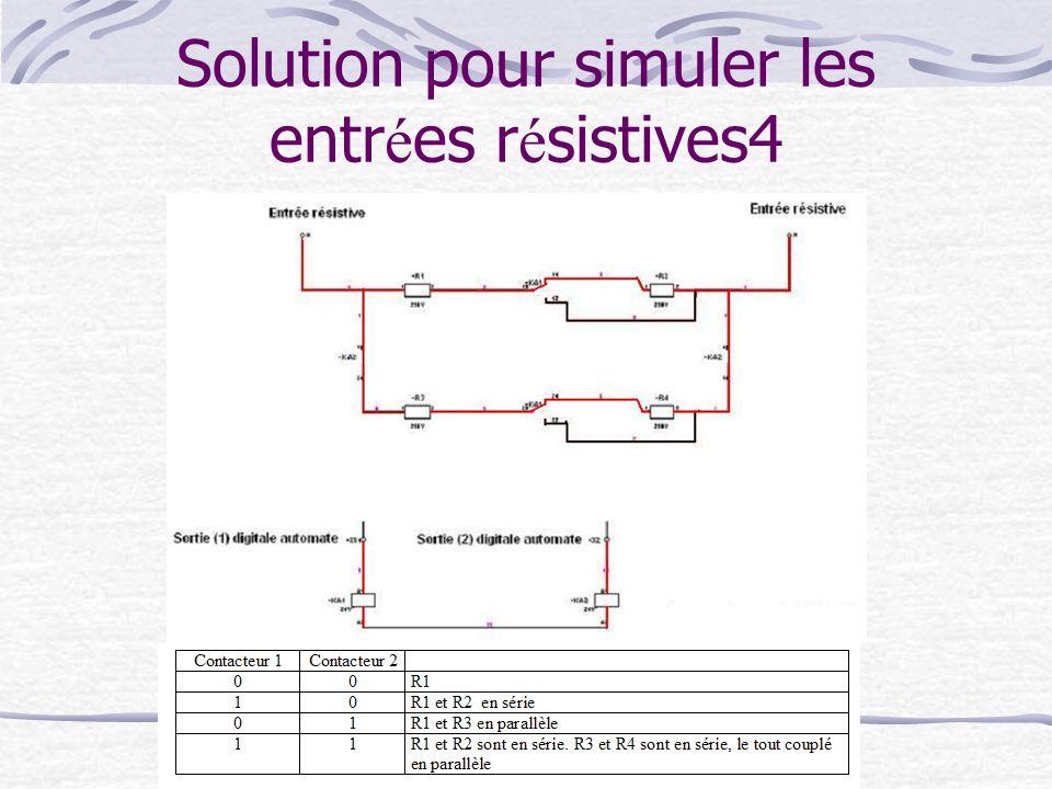 Solution pour simuler les entrées résistives4