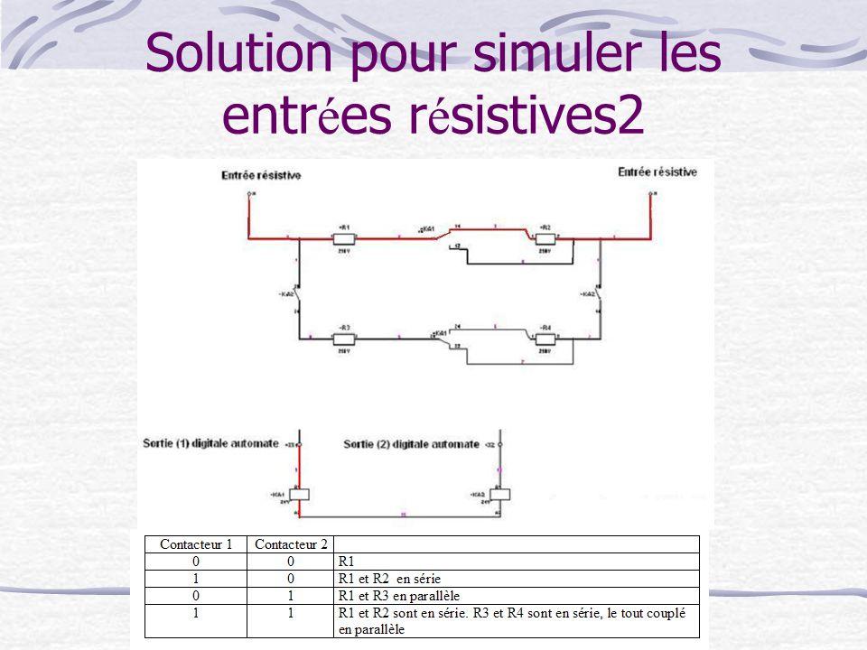 Solution pour simuler les entrées résistives2