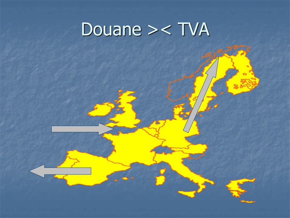 Douane >< TVA