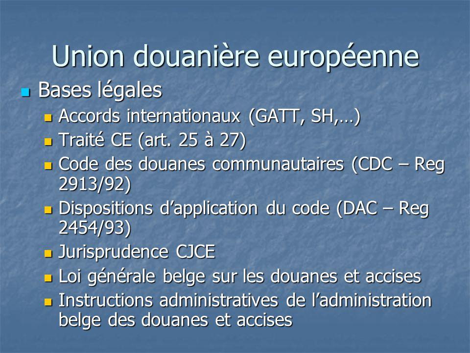 Union douanière européenne