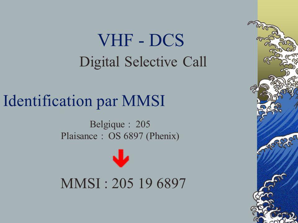 Identification par MMSI
