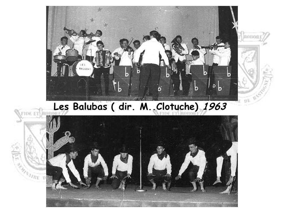 Les Balubas ( dir. M..Clotuche) 1963