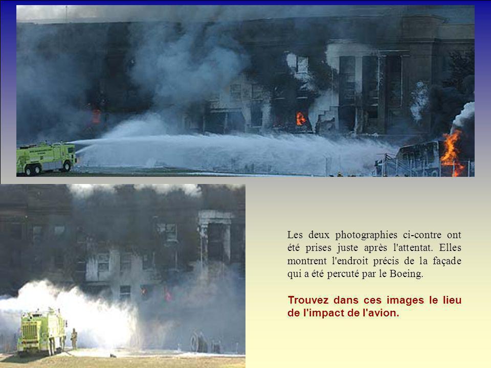 Les deux photographies ci-contre ont été prises juste après l attentat