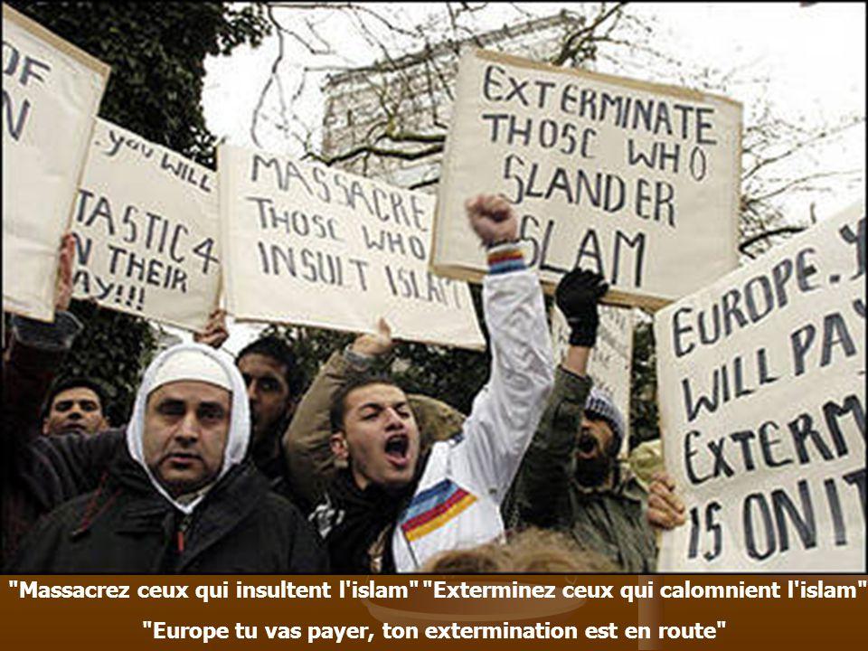 Massacrez ceux qui insultent l islam