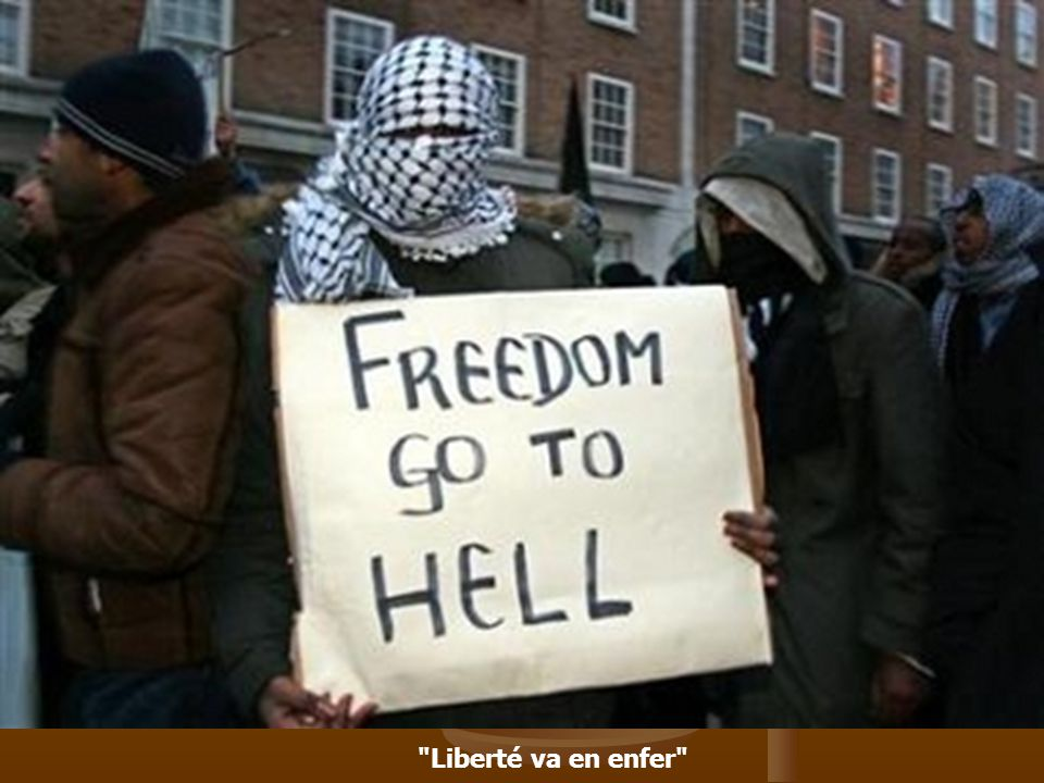Liberté va en enfer