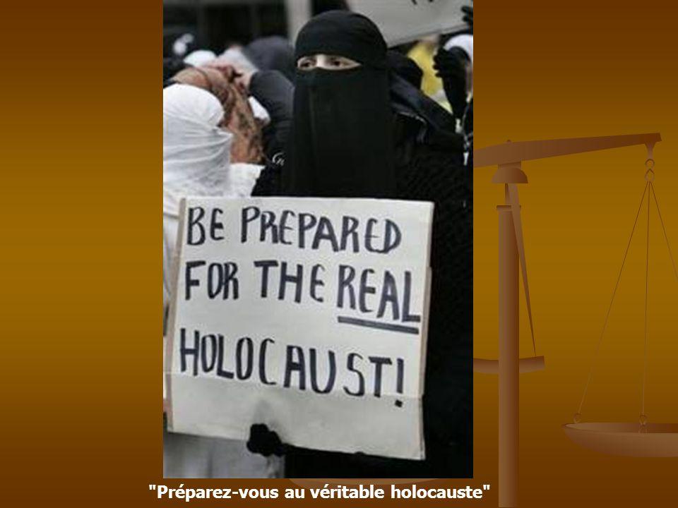 Préparez-vous au véritable holocauste
