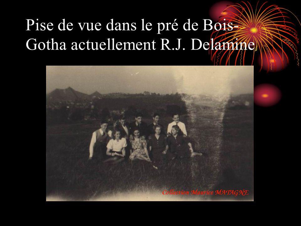 Pise de vue dans le pré de Bois-Gotha actuellement R.J. Delamine