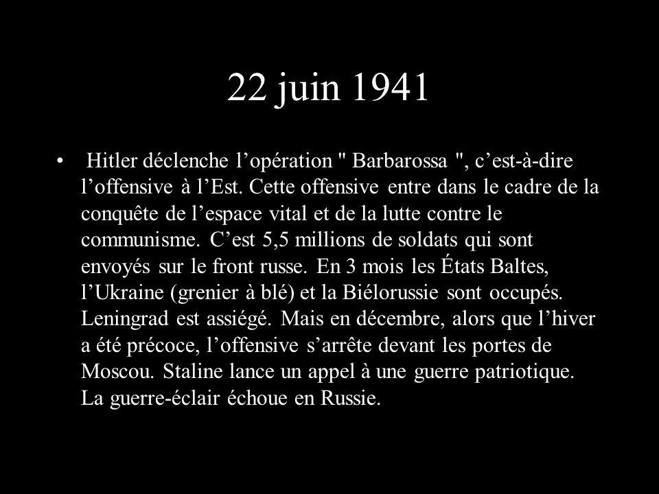 22 juin 1941