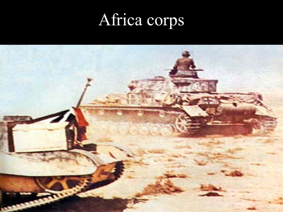 Africa corps