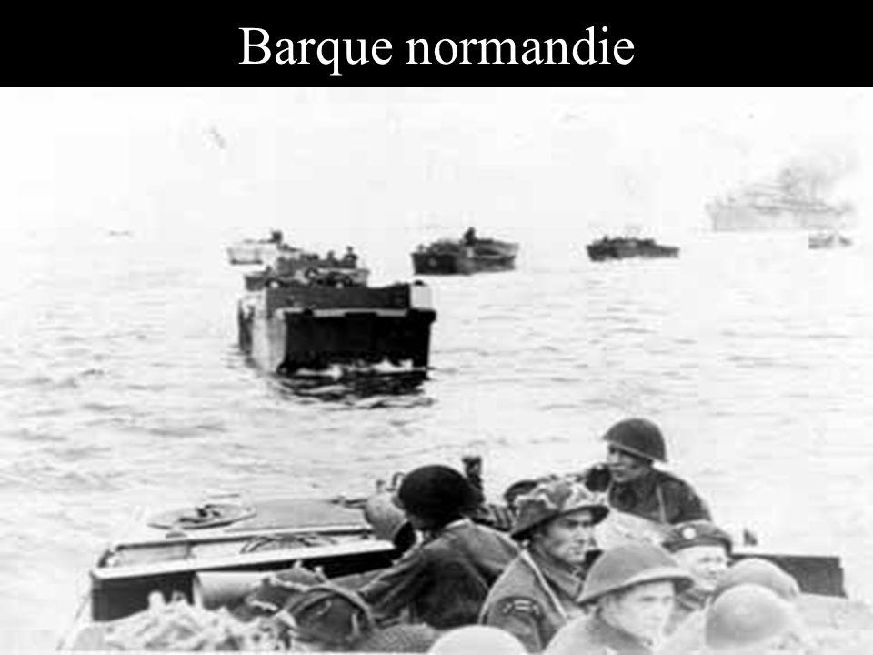 Barque normandie