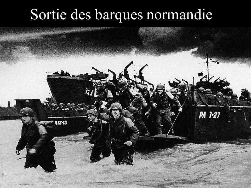 Sortie des barques normandie